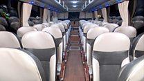 چین: 'چلتے ہو تو بس پر چلیے'