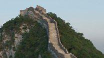La tecnología del siglo XXI que intenta salvar a la Gran Muralla China