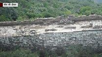 ख़तरे में चीन की दीवार