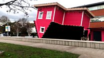 The 'UK's first' Upside Down House
