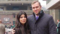 """زوجة البريطاني المتهم  بالتجسس في الإمارات """" كان خائفا جدا عندما وقف أمام القاضي """""""