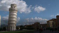 Pisa Kulesi düzeliyor