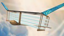 'Sci-fi' plane flies succesfully