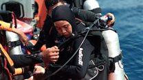 Lion Air JT610: Putri, satu-satunya penyelam perempuan Basarnas yang ikut evakuasi korban