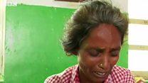 तूफ़ान में अपनी बेटी को खोने वाली मां का दर्द