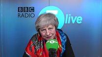 BBC caller asks May for EU honest answer