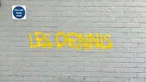 Les Dennis pins blame on 'low-rent Banksy'