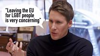 'Leaving the EU is concerning for LGBT people'
