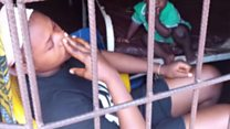 Hospital hold dis woman for one year say she no pay medical bills