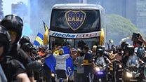 South America football final postponed