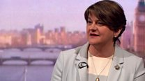 Foster: 'Why DUP cannot support Brexit deal'