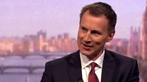 Hunt: 'MPs must think in the national interest'