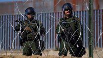 بالفيديو: ماذا يحدث على الحدود الأمريكية المكسيكية؟