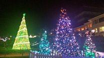 The 'million' light bubs of Christmas