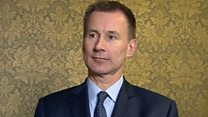Hunt welcomes pardon for jailed academic