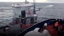 """Давай, бл..."" - як росіяни таранили український корабель"