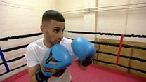 'My dad didn't want me to be a boxer'