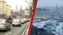 Война между Россией у Украиной. Что думаю люди в Москве и Киеве о такой сценарии развития