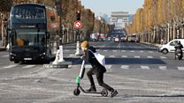 The electric scooter scheme taking over Paris