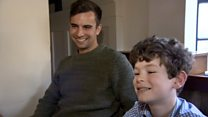 Boy, 10, meets his 'superman' life-saver