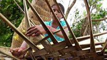 கஜ புயல்: முடங்கிபோன ஓலை முடையும் தொழில்