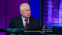 خير الدين حسيب الرئيس السابق لمركز دراسات الوحدة العربية