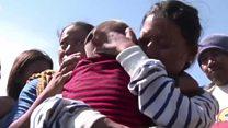 """""""То је потпуно чудо"""": Дечак који је преживео цунами"""