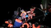 Migrant families rescued from Channel