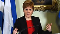 Scottish government 'can't accept brexit deal'