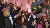 Visite polémique en Tunisie