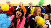 Baby group brings smile to older people