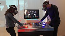 The VR game showing how fast 5G could be
