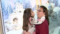 Seriously ill girl gets her own Lapland