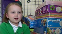 Girl, 6, gives advent calendars to sick kids