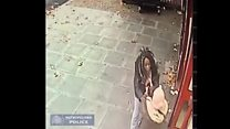 Daylight street robbery CCTV released