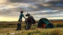 Iranian woman wants to change female biker ban