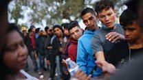 The growing asylum crisis on the US border