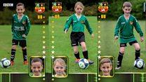 Junior football team makes its own sticker album