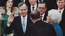 The life of George HW Bush