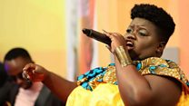 'My singing silenced the body shamers'