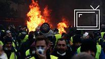 Беспорядки в Париже: французы громят столицу, требуя снизить цены на топливо