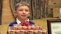 Gift for boy who saved Grandfather