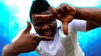 The Tanzanian viral video maker