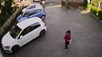 The CCTV a murderer tried to hide