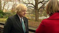 EU making 'predatory claim' on NI  - Johnson