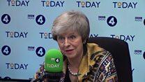 Theresa May says no second referendum