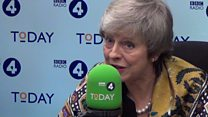 May: 'There's no deal without a backstop'