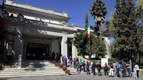 Así es la residencia presidencial de Los Pinos en México, que acaba de abrir sus puertas al público por primera vez