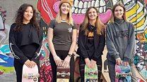 Meet the girls-only skateboarding group