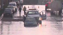 Winter storm hits California